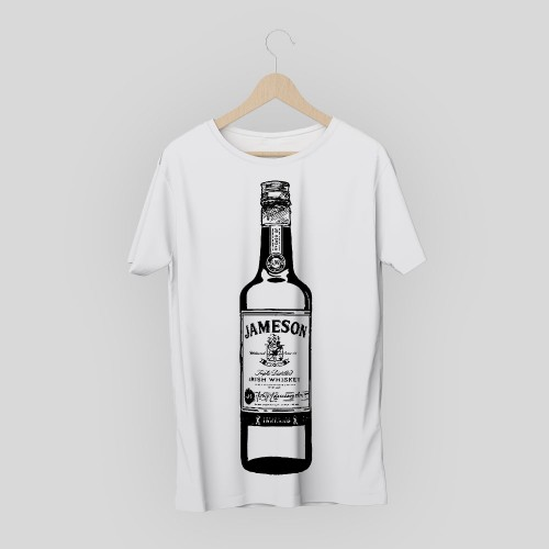 T-shirt vintage Jameson whiskey