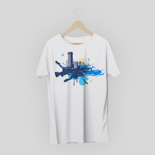 T-shirt creative city 3
