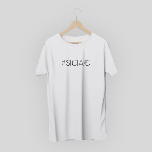 T-shirt hashtag siciao