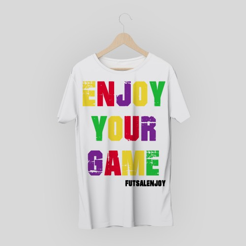 T-shirt Futsal Enjoy Colori