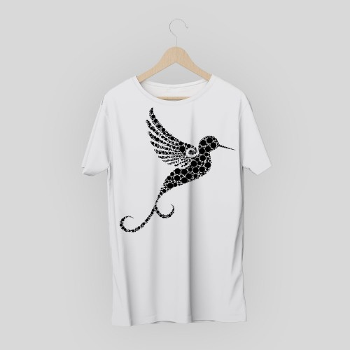 T-shirt uccello