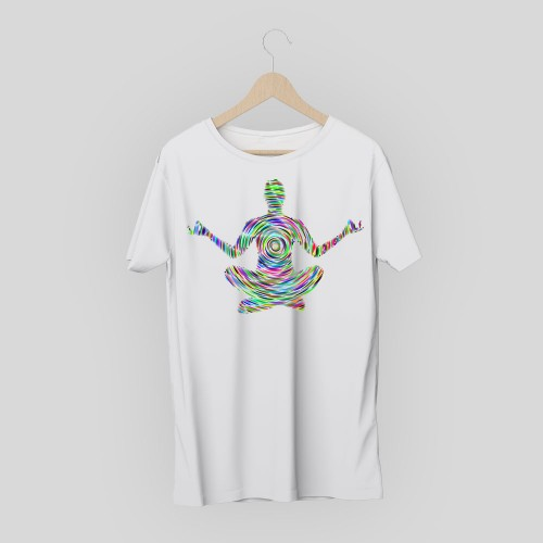 T-shirt creative yoga